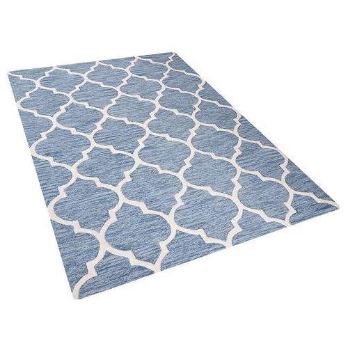Beliani Dywan jasnoniebieski - 160x230 cm - handmade - bawełna - yalova