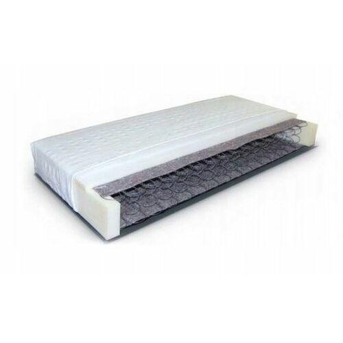Materac sprężynowo piankowy jednostronny 90x200, 90200greg