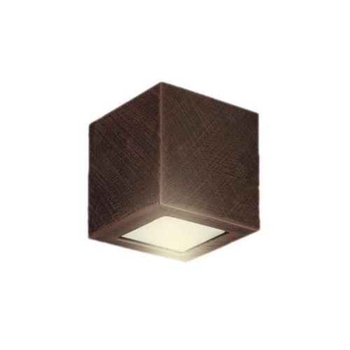 Kinkiet Adera 14 Wenge 026/14W - Lampex - Sprawdź kupon rabatowy w koszyku (5902622100456)