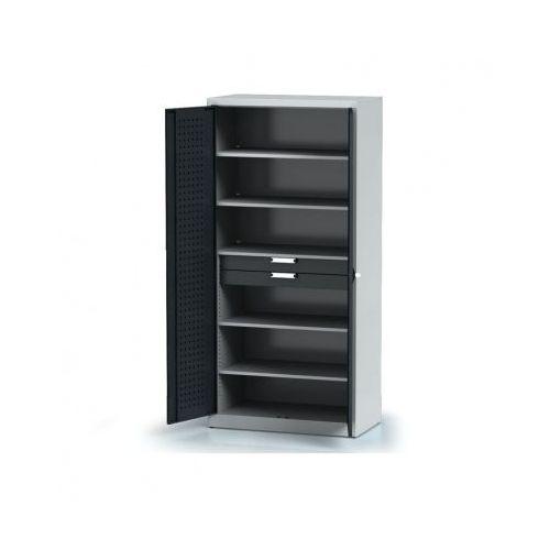 Szafa warsztatowa - 5 półek, 2 szuflady