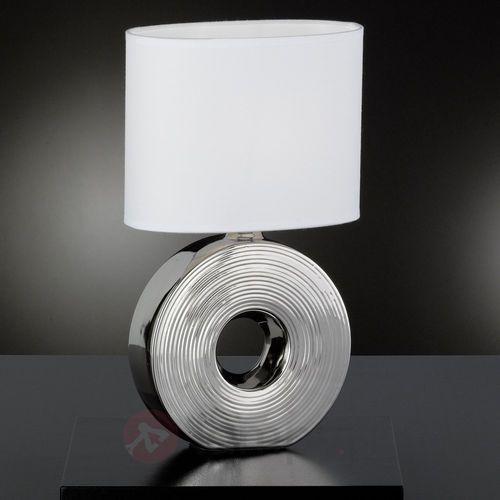 Honsel Eye Lampa stołowa Srebrny, 1-punktowy - Klasyczny - Obszar wewnętrzny - Eye - Czas dostawy: od 4-8 dni roboczych (4001133561990)