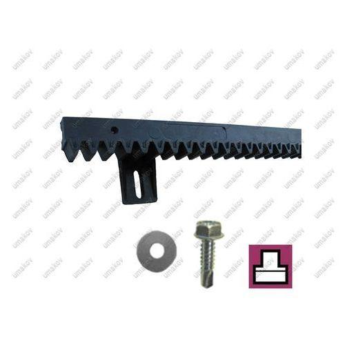Listwa Zębata PVC+Fe,light,27x20mm, L1m,max 300kg