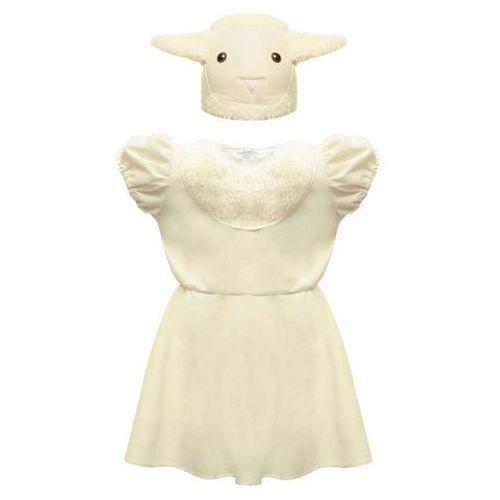 """Strój """"owieczka sukienka"""" 98/104 marki Gam"""