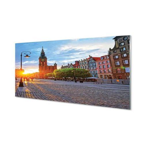 Obrazy akrylowe gdańsk stare miasto wschód słońca marki Tulup.pl