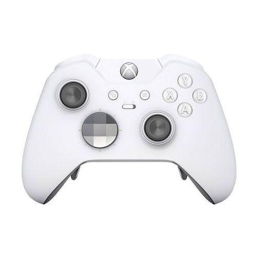 Microsoft Kontroler bezprzewodowy xbox elite do konsoli xbox one - edycja specjalna white (biały)