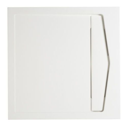 Brodzik konglomeratowy Cooke&Lewis Helgea kwadratowy 80 x 80 x 4 5 cm, 1138028-80NP