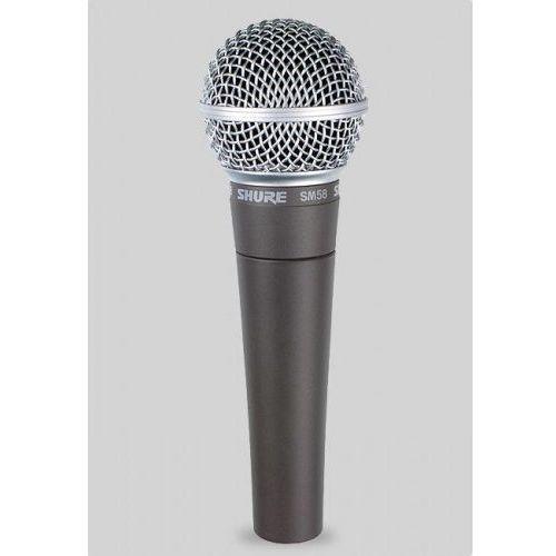 sm58lce legendarny mikrofon wokalowy dynamiczny marki Shure