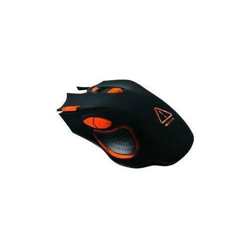 Mysz corax (cnd-sgm5n) czarna/pomarańczowa marki Canyon