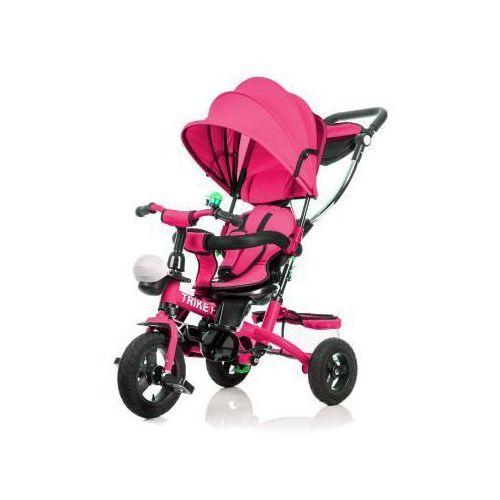 Kids motion Rowerek trójkołowy 6w1 różowy trike fix zm-99 (5901779365671) - OKAZJE