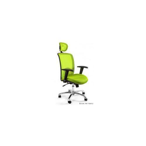 Unique meble Krzesło biurowe expander zielone