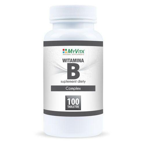 Witamina B Complex (MyVita) 100 tabl. (5905279123816). Najniższe ceny, najlepsze promocje w sklepach, opinie.