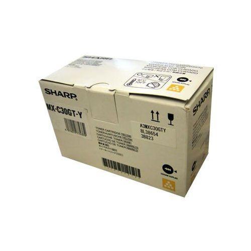 Toner Sharp MX-C30GT-Y Yellow do kopiarek (Orygionalny) [6k] (4974019774374)