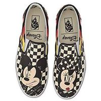 Vans Nowe buty classic slip on mickey minnie checker flame rozmiar 30,5/18cm