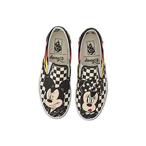 Nowe buty classic slip on mickey minnie checker flame rozmiar 30,5/18cm, Vans