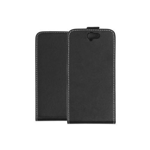 HTC One (A9) - etui na telefon Forcell Slim Flexi - czarny, kolor czarny