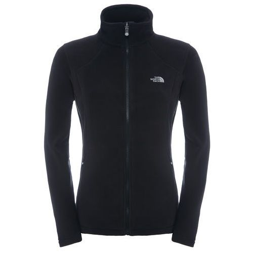 Polar 100 GLACIER FULL ZIP WOMEN - black, poliester