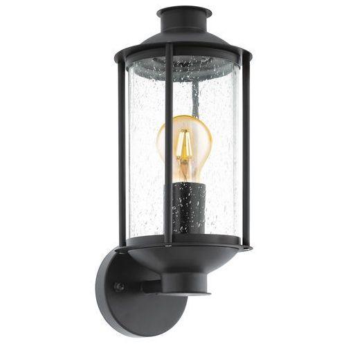 Kinkiet Eglo Mamurra 96222 lampa ścienna 1x60W czarny, 96222