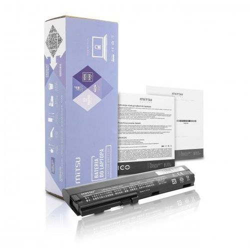 akumulator / Nowa bateria Mitsu do laptopa HP COMPAQ 2560p, 2570p