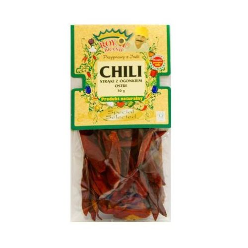 Chili strąki z ogonkiem ostre 30 g marki Royal brand