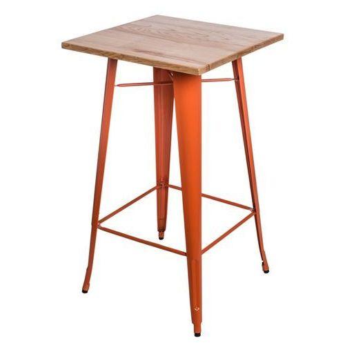 Stół barowy Paris Wood pomarańczowy jesion D2.DESIGN