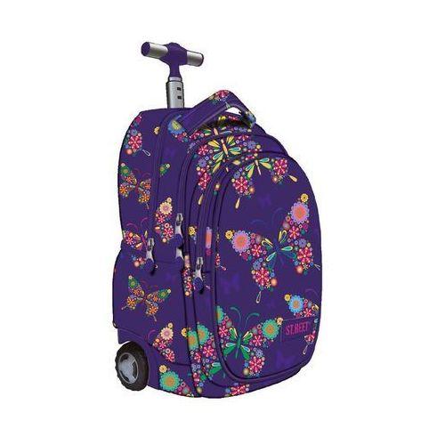St. majewski Plecak na kółkach st-majewski st. reet butterfly + darmowy transport! (5903235608803)