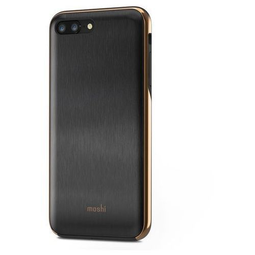 Moshi iglaze - etui iphone 8 plus / 7 plus (armour black) (4713057253690)