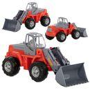 Wader-polesie traktor-ładowarka w siatce
