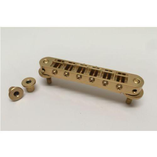 t3bp-sg - tune-o-matic bridge, mostek do gitary, satynowy złoty marki Tonepros