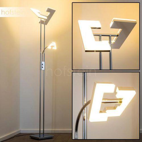 Reality Trio rl avignon r42782106 lampa stojąca podłogowa 1x4,5w led chromowana/biała (4017807301977)