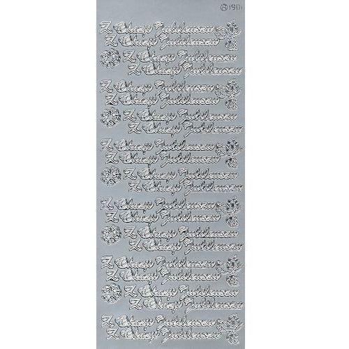 Herma Sticker srebrny 90100 - z okazji jubileuszu x1