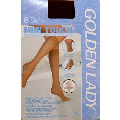 Golden lady Podkolanówki mini touch 8 den uniwersalny, brązowy/thar, golden lady