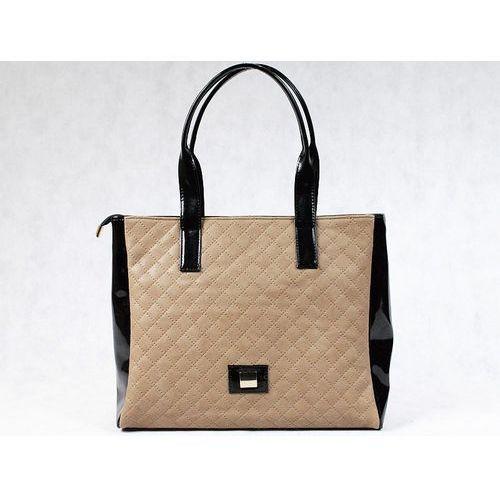 Wyprzedaż polska torebka pikowana beż - beżowy marki Tara