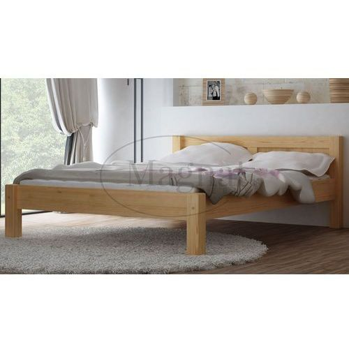 Łóżko sosnowe wiktoria 140x200 marki Magnat - producent mebli drewnianych i materacy