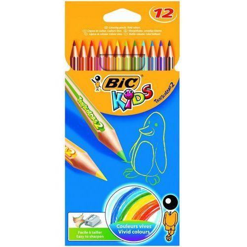 12 kolorów Kids Tropicolors 2 Kredki ołówkowe (3270220022503)