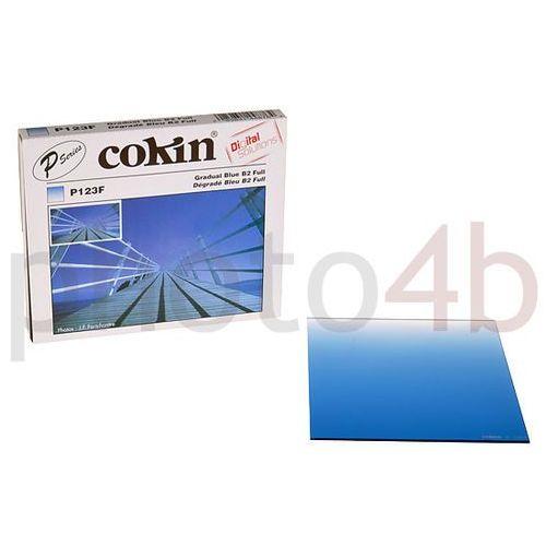 P123f - filtr połówkowy niebieski b2 (full) p 123f marki Cokin