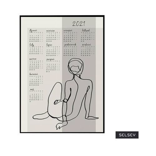 Selsey kalendarz rumex 50x70 cm z wyborem ramy (5903025472041)