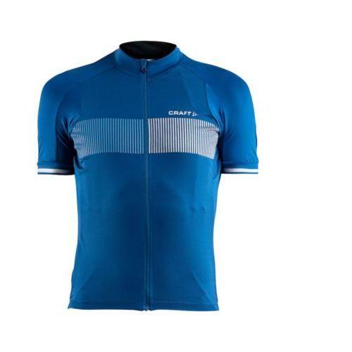 Koszulka z krótkim rękawem CRAFT Verve Glow niebieski-granatowy / Rozmiar: XL