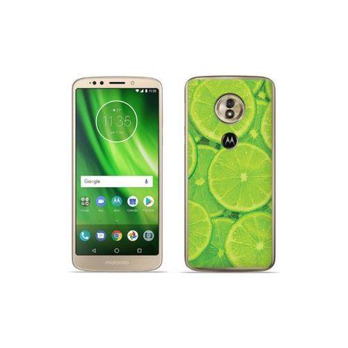etuo Foto Case - Motorola Moto G6 Play - etui na telefon Foto Case - limonki, kolor zielony