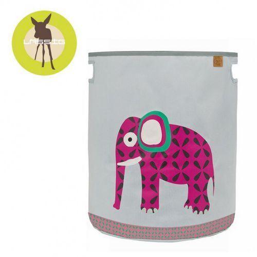pojemnik kosz na zabawki wildlife słoń marki Lassig