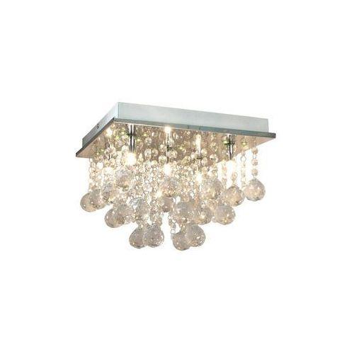 Reality Plafon lampa sufitowa escada 5x33w g9 chrom / kryształ 609305-06 (5906737304020)