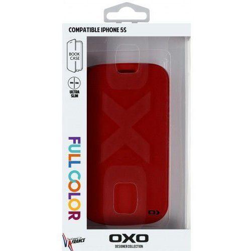 Oxo Etui xboip5scoldr6 do ipone 5s bookcase czerwony
