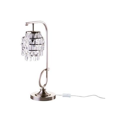 Lampa stołowa srebrna 67 cm ELDON (4251682201247)