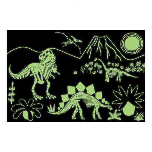 puzzle świecące w ciemności dinozaury 100 elementów 5+ marki Mudpuppy