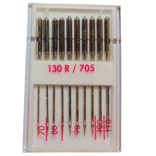 Inny / zamiennik Igły półpłaskie 130/705h uniwersalne mix 70-110 - 10 szt.