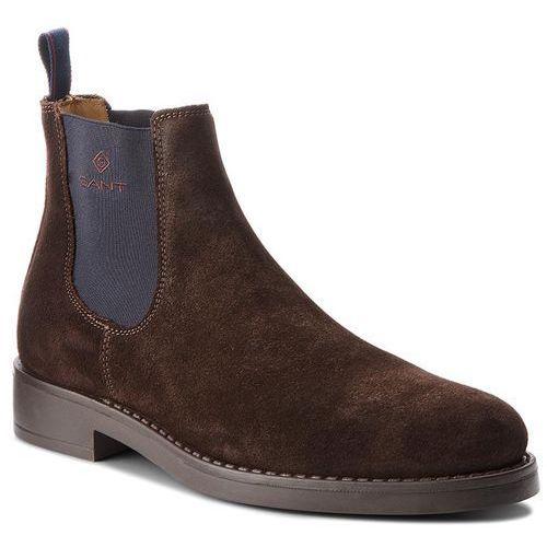 Sztyblety - oscar 17653903 dark brown g46 marki Gant