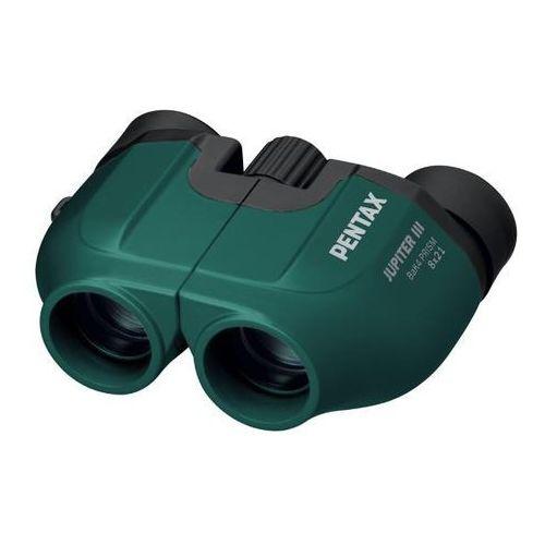jupiter iii 8x21 (zielony) - produkt w magazynie - szybka wysyłka! marki Pentax
