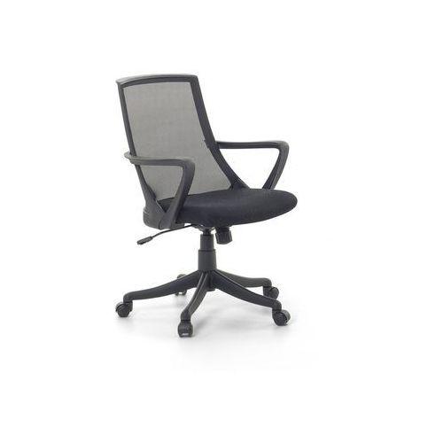 Beliani Krzesło biurowe czarne regulowana wysokość ergo (7081455402130)