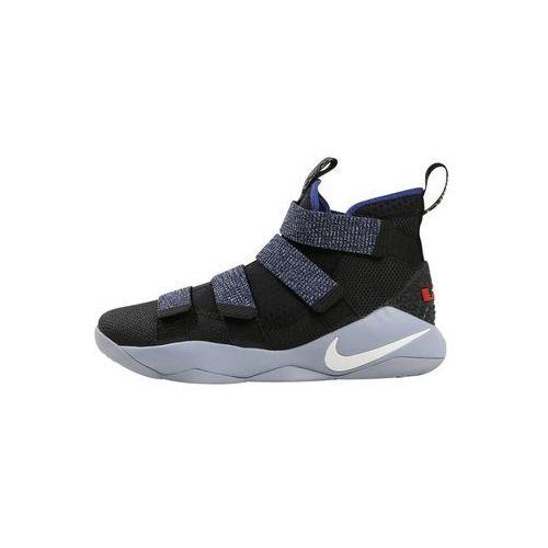 Nike Performance LEBRON SOLDIER XI Obuwie do koszykówki glacier grey/white deep/royal blue (0091204724045)
