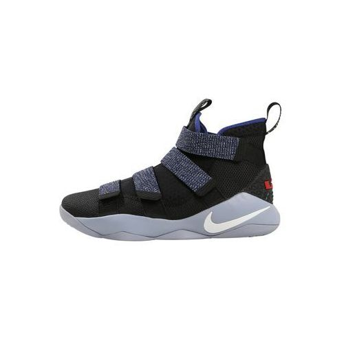 Nike Performance LEBRON SOLDIER XI Obuwie do koszykówki glacier grey/white deep/royal blue, 897644