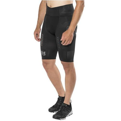 Compressport Trail Running Control Spodenki do biegania Mężczyźni czarny T1 / S 2018 Legginsy do biegania, kolor czarny